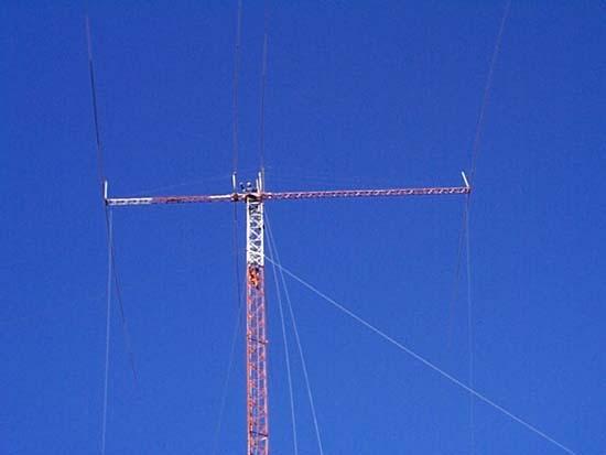 40 Meter wire beam antenna