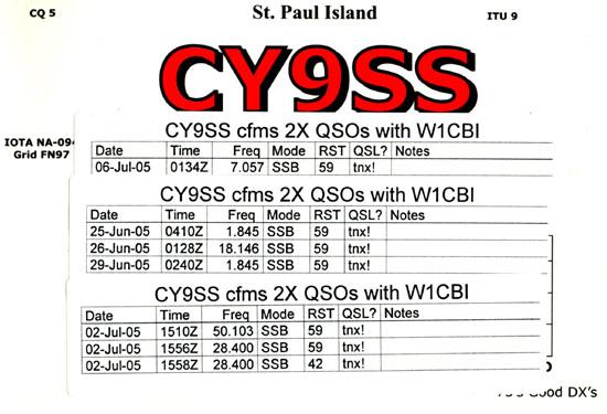 cy9ss 2005 st paul island